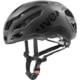 UVEX Race 9 Casco, all black mat